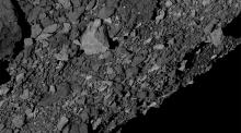 Bennu's surface is rockier than expected, creating challenges for the team.