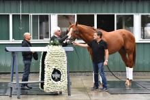 Bob Baffert with Justify
