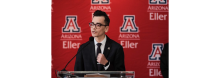 Luis Ricardo Soto Carrillo speaks at University of Arizona.