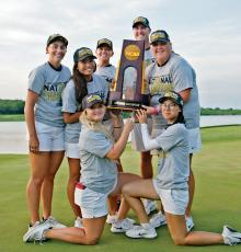 7978a2592 Women s Golf Wins Third National Championship