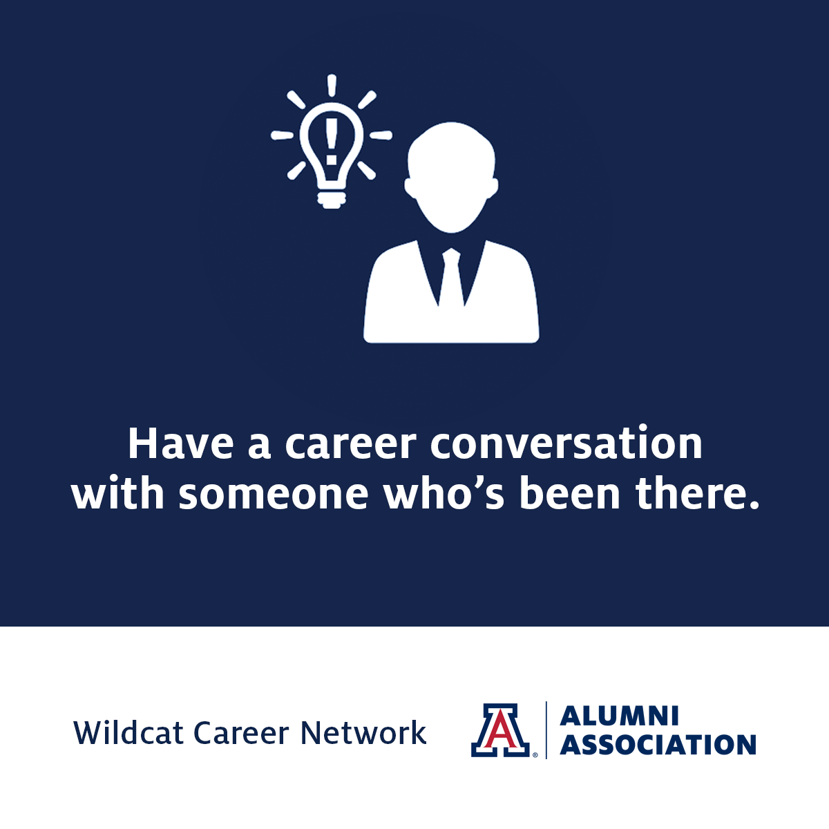 wildcat career network sample messaging to advisees ua alumni build your network middot career conversations